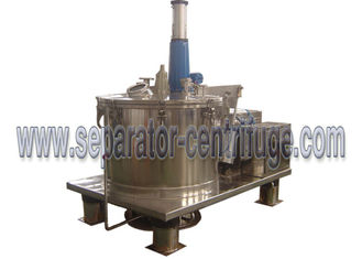 Trung Quốc High Automation Basket Centrifuge Bottom Discharge Scraper Continuous Centrifuge nhà cung cấp