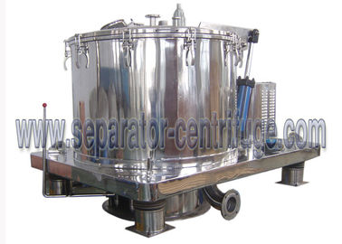 Trung Quốc Automatic Scraper Bottom Discharge Pharmaceutical Centrifuge / Perforated Basket Centrifuge nhà cung cấp