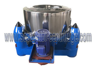 Trung Quốc Three Footed Manual Top Discharge Basket Centrifuge Batch Operate Food Centrifuge Machine nhà cung cấp