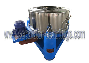Trung Quốc Model PTD Three Footed Manual Top Discharge Food Centrifuge / Liquid-solid Separation Machines nhà cung cấp