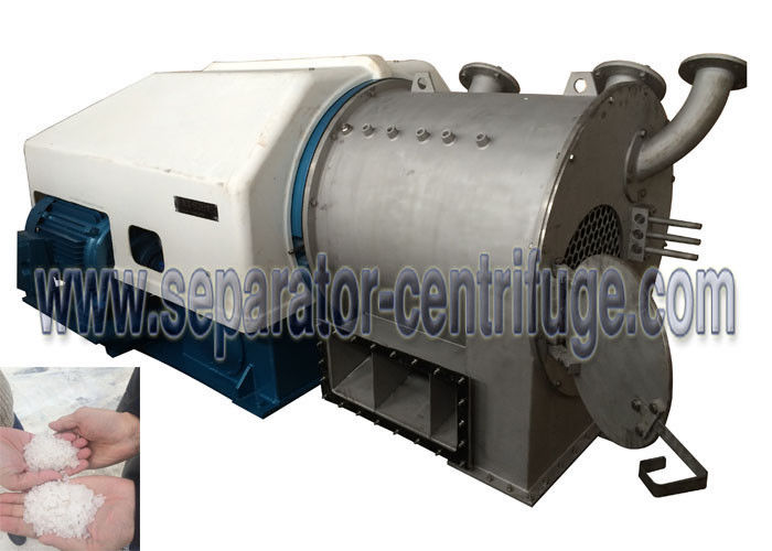 IP54 / F1 Horizontal 45 Kw 10 Ton/h 2 Stage Pusher Salt Centrifuge Equipment PP-50