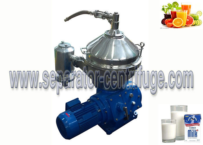 Various Capacity 2-phase Disc Bowl Food Centrifuge for Milk and Juice