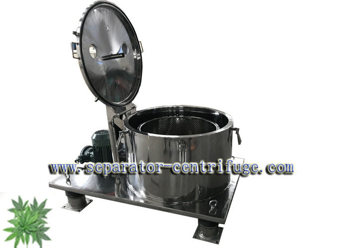 Hemp Oil / Canna - Bis Extraction Centrifuge , Continuous Centrifuge PPTD - 50