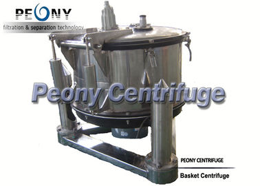 Trung Quốc Manual Top Discharge Basket Centrifuge For Solid-liquid Separation And Chemical nhà phân phối