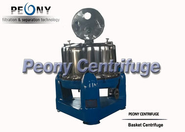 Trung Quốc Industrial Vertical Basket Centrifuge Separator , Full Cover Extraction Machines nhà phân phối