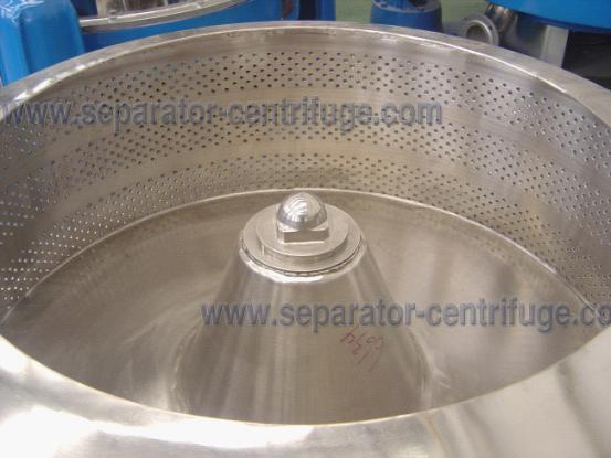Model PTD Three Footed Manual Top Discharge Food Centrifuge / Liquid-solid Separation Machines
