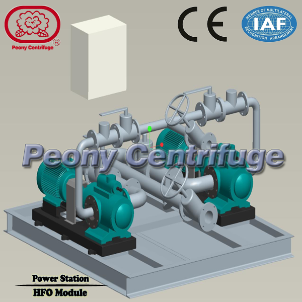 HFO Power Plant Light Fuel Oil Handling System / Centrifugal Booster Treatment Module CE