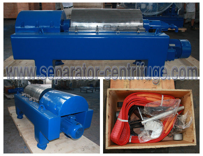 Solid - Liquid Separation Decanter Centrifuge for Drilling Mud Treatment Equipment