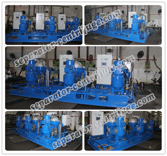 Disc Stack Large Capacity Centrifugal Separator For Waste Oils